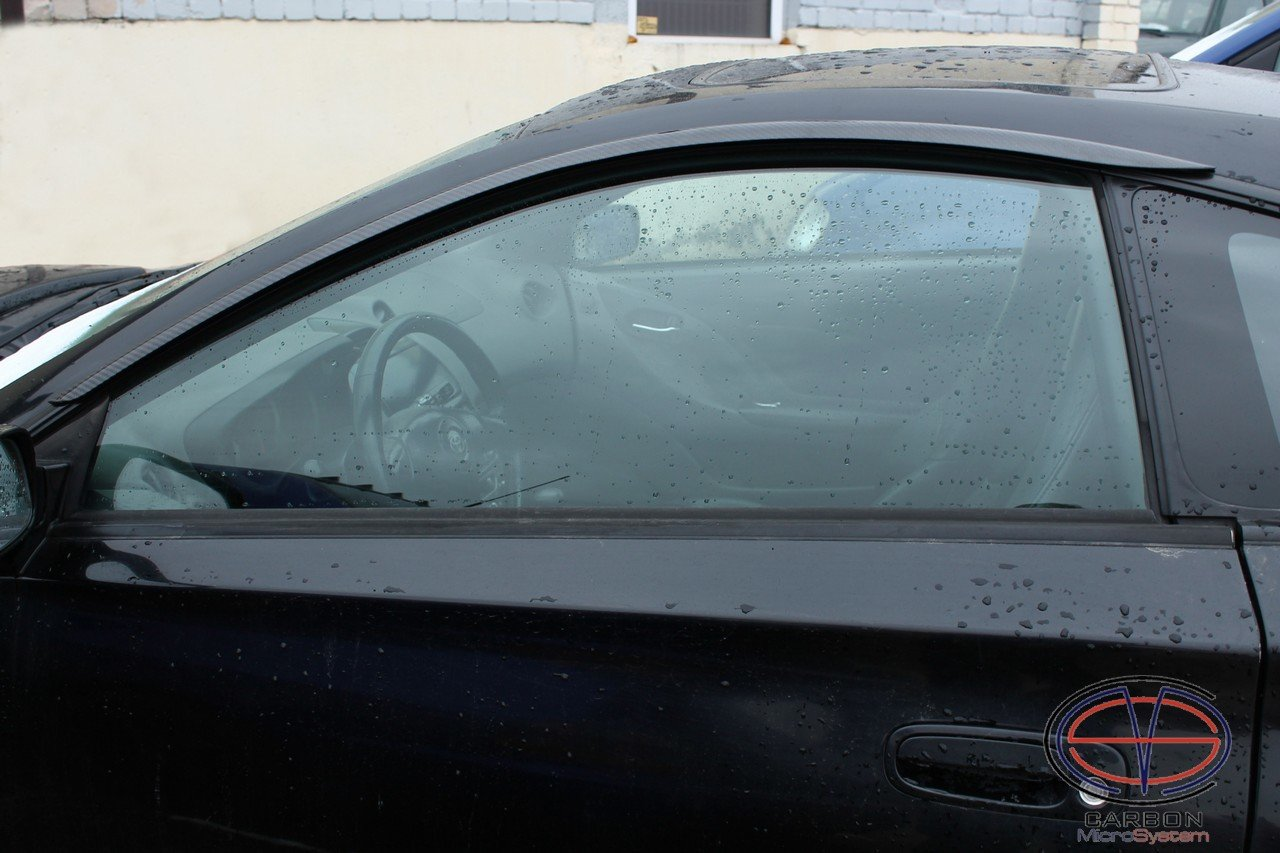 Window Wind Deflectors from Carbon Fiber for TOYOTA Celica T23