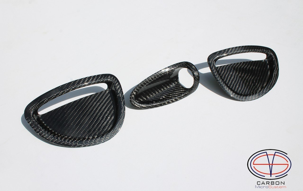 Inserts in GT4 hood from Carbon fiber for TOYOTA Celica ST205 2016-4