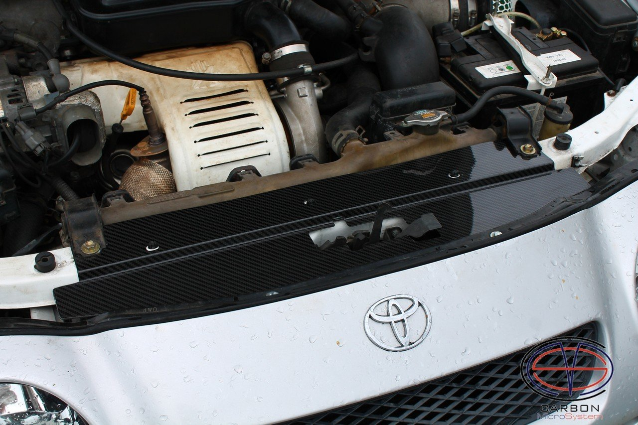 Radiator cooling panel from Carbon Fiber for TOYOTA Celica ST 205 GT4