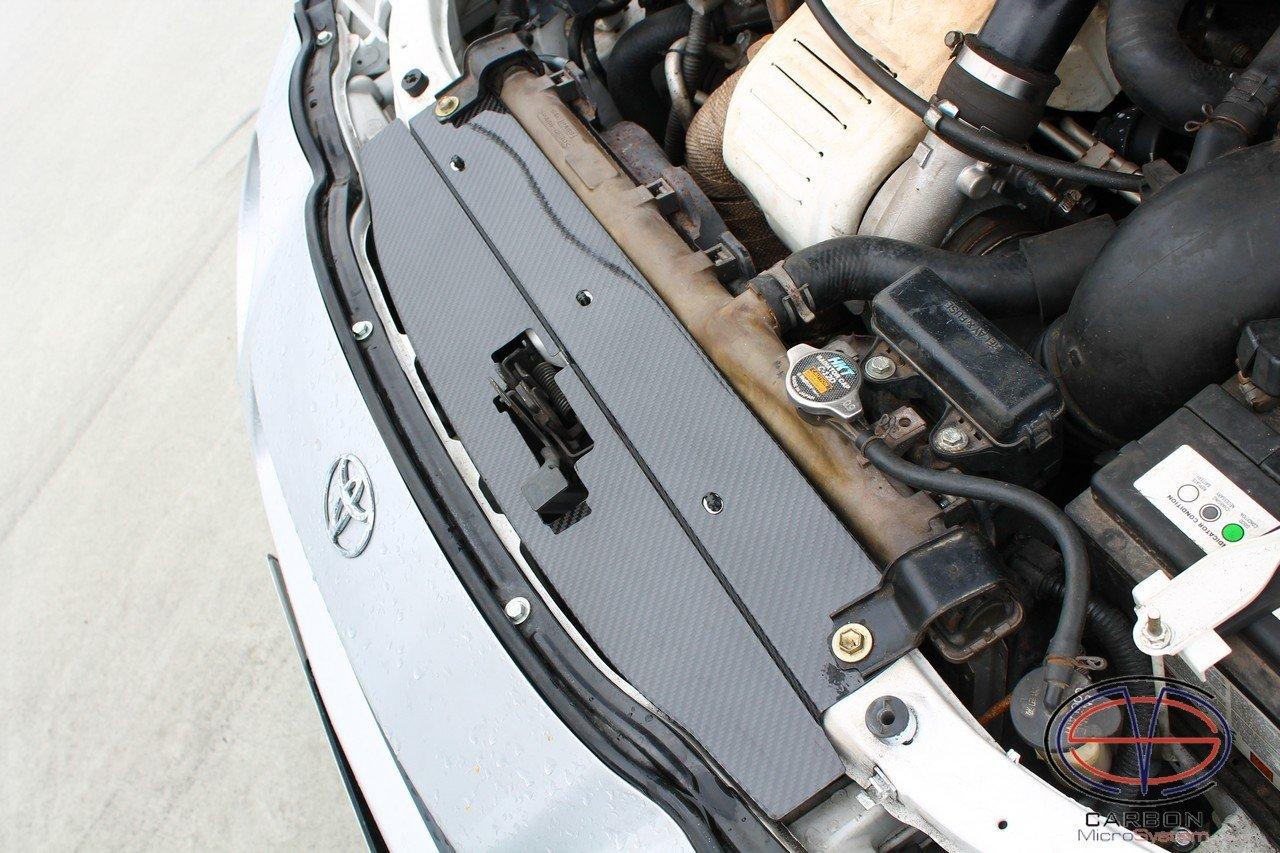 Radiator cooling panel Carbon