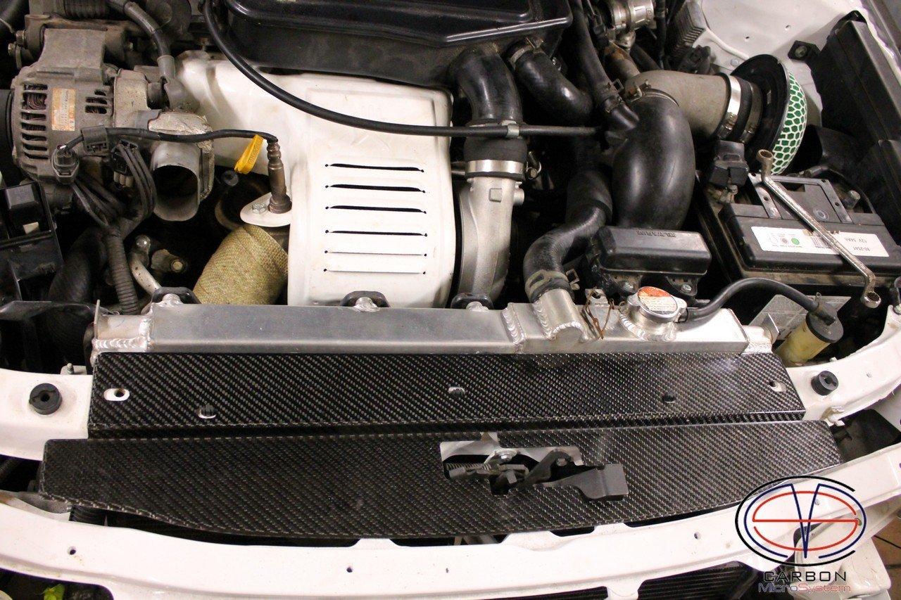 Radiator cooling panel from Carbon Fiber for TOYOTA Celica