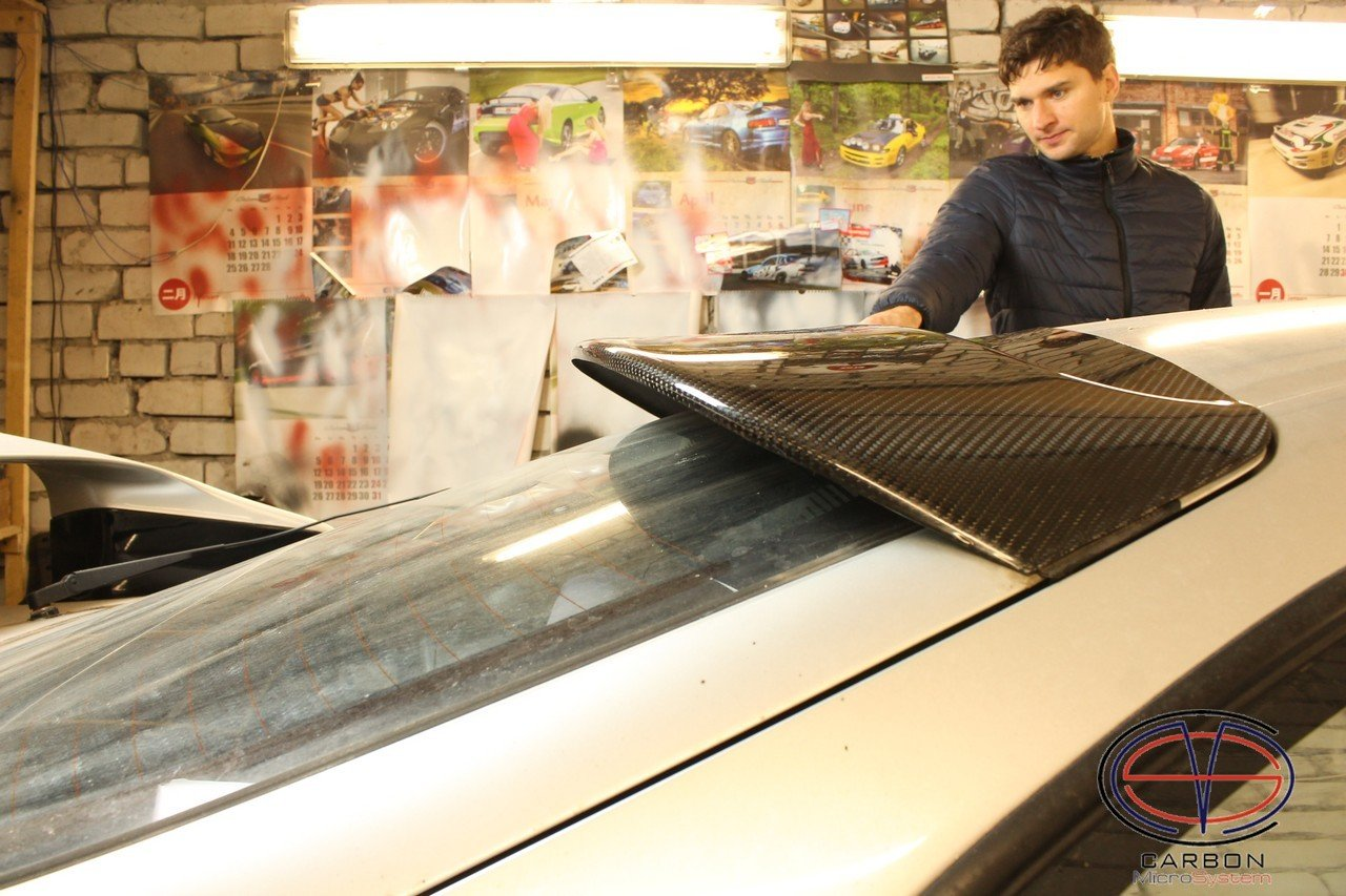 Rear roof Spoiler from Carbon Fiber for TOYOTA Celica ST 205 GT4