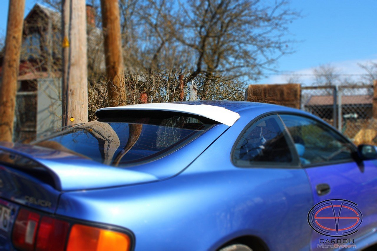 Rear roof Spoiler from Fiberglass for TOYOTA Celica
