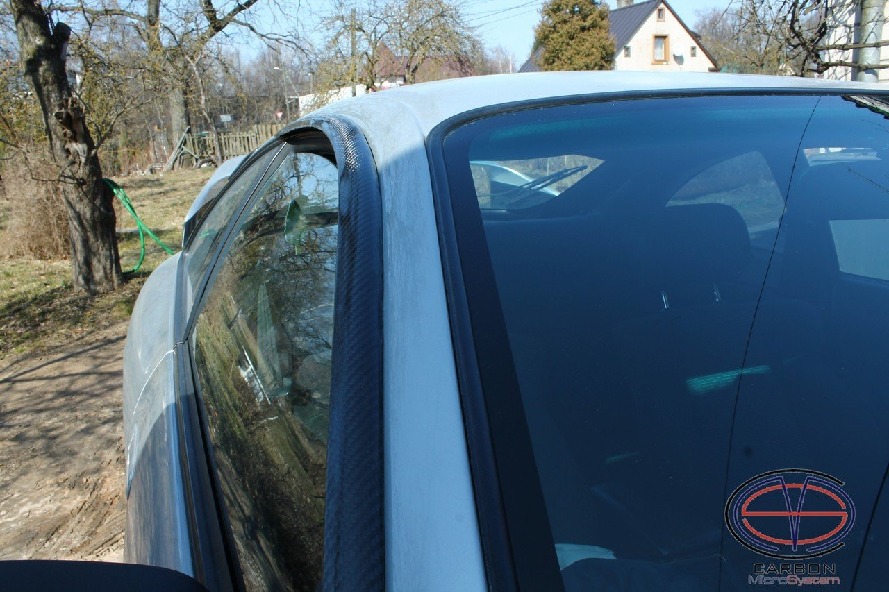 Window Wind Deflectors from Carbon Fiber for TOYOTA