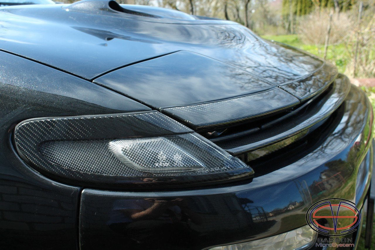 Front Grilles Complete set from Carbon Fiber for TOYOTA Celica ST 182