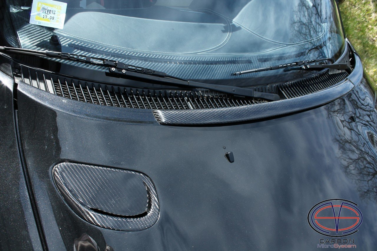 Bonnet spoiler from Carbon Fiber for TOYOTA Celica ST 182, ST 183, ST 185 GT4