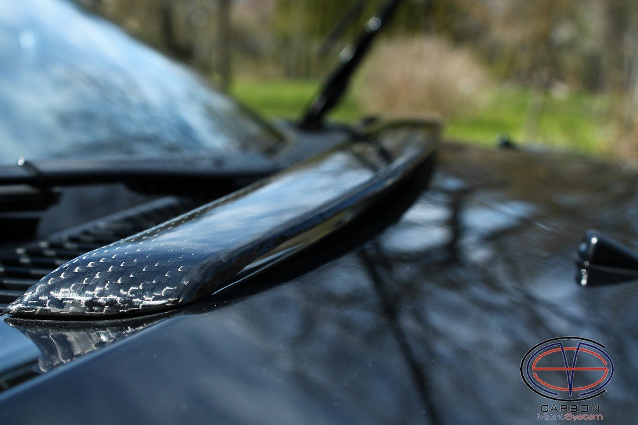Bonnet spoiler from Carbon Fiber for TOYOTA Celica ST182