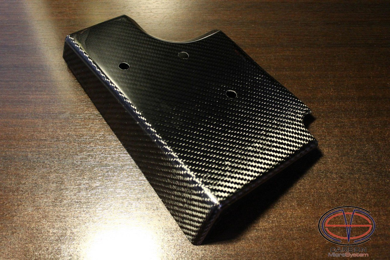 Cover for ABS block from Carbon Fiber for TOYOTA Celica ST18
