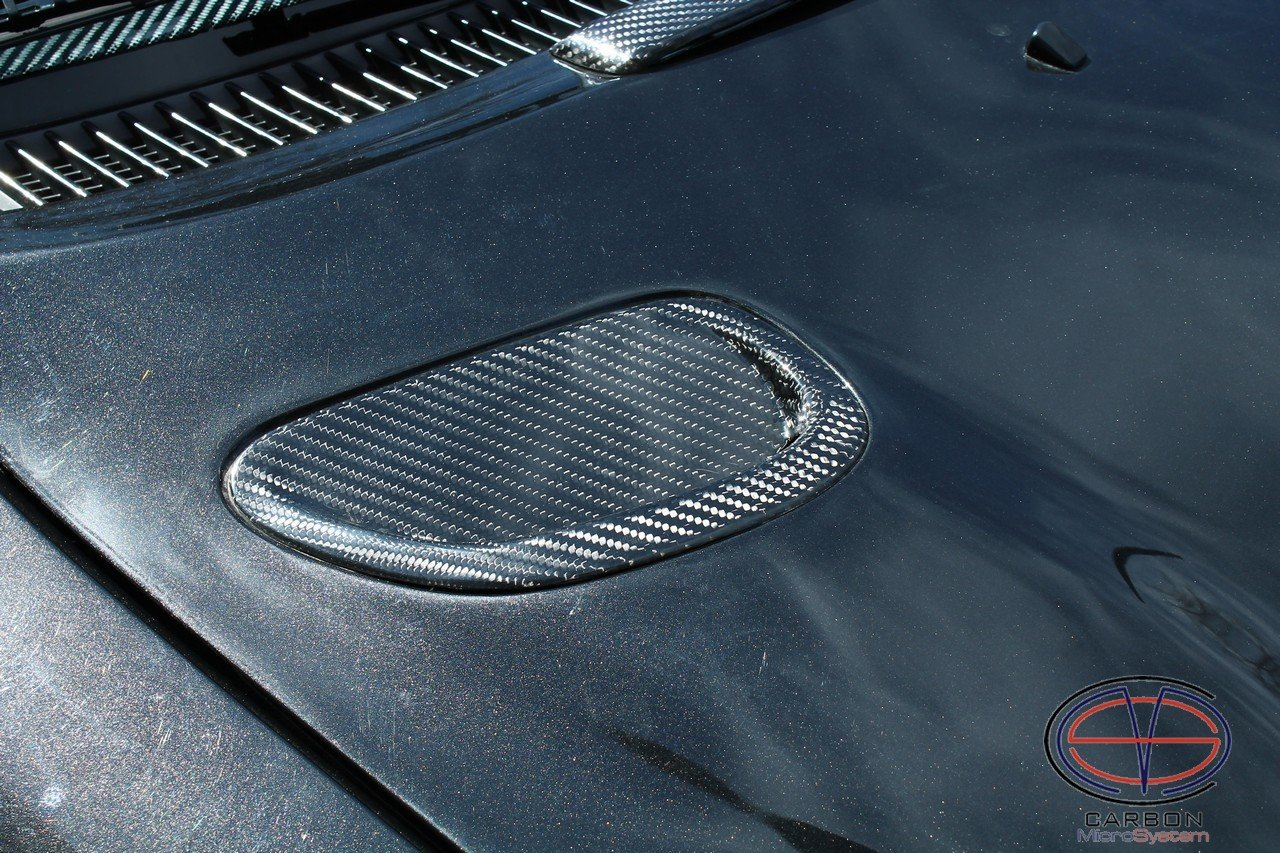 Inserts in hood from Carbon fiber for TOYOTA Celica ST 185 GT4