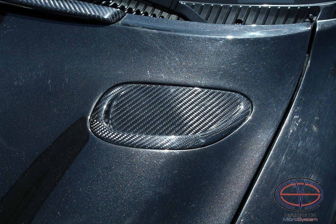 Inserts in hood from Carbon fiber for TOYOTA Celica ST 183