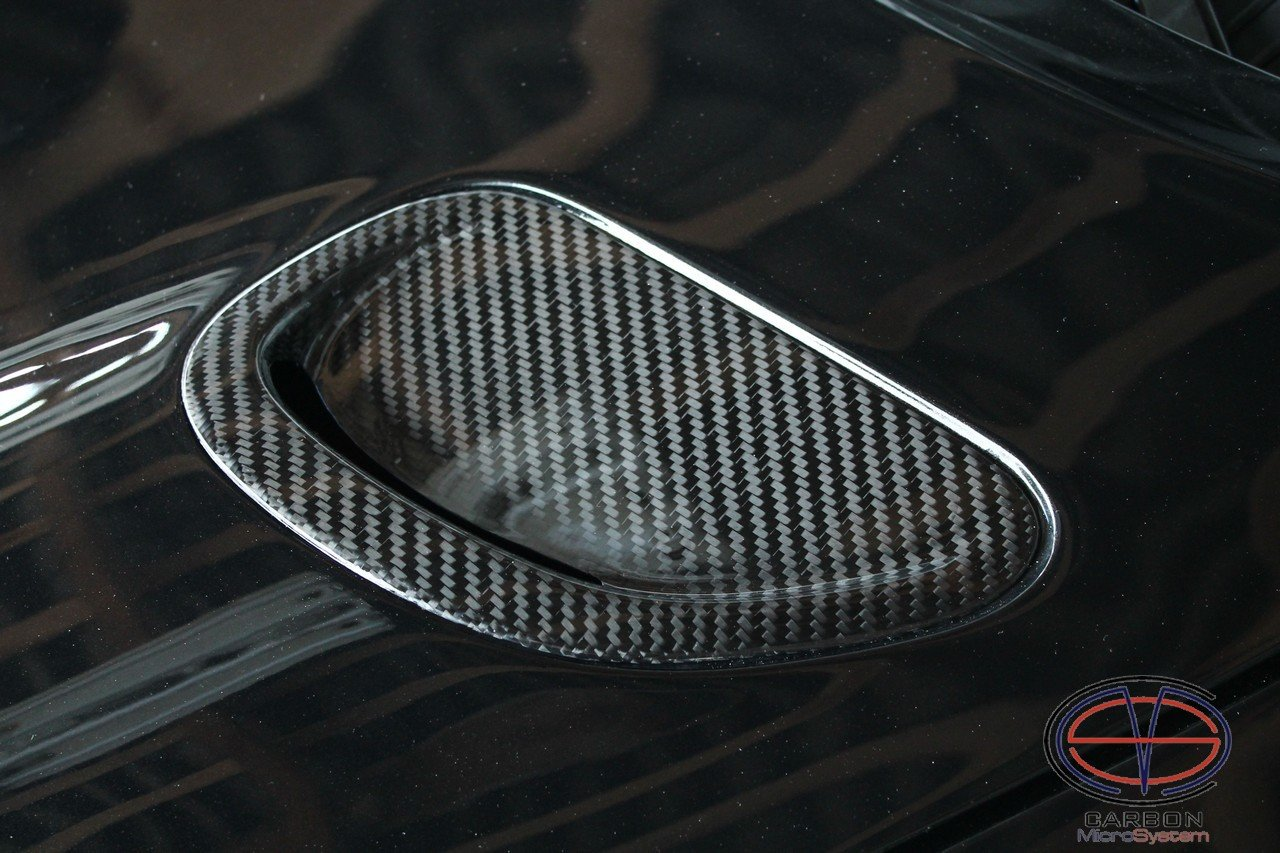 Inserts in hood from Carbon fiber for TOYOTA Celica