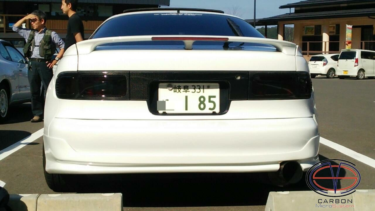 Number plate panel surround