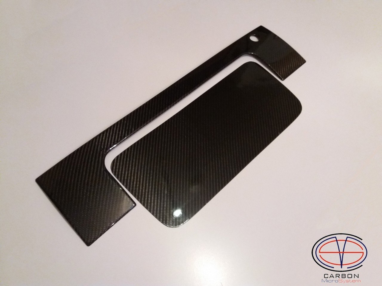 Number plate panel surround (Short) from Carbon Fiber for TOYOTA Celica ST182, ST183, ST185 GT4 2017-3