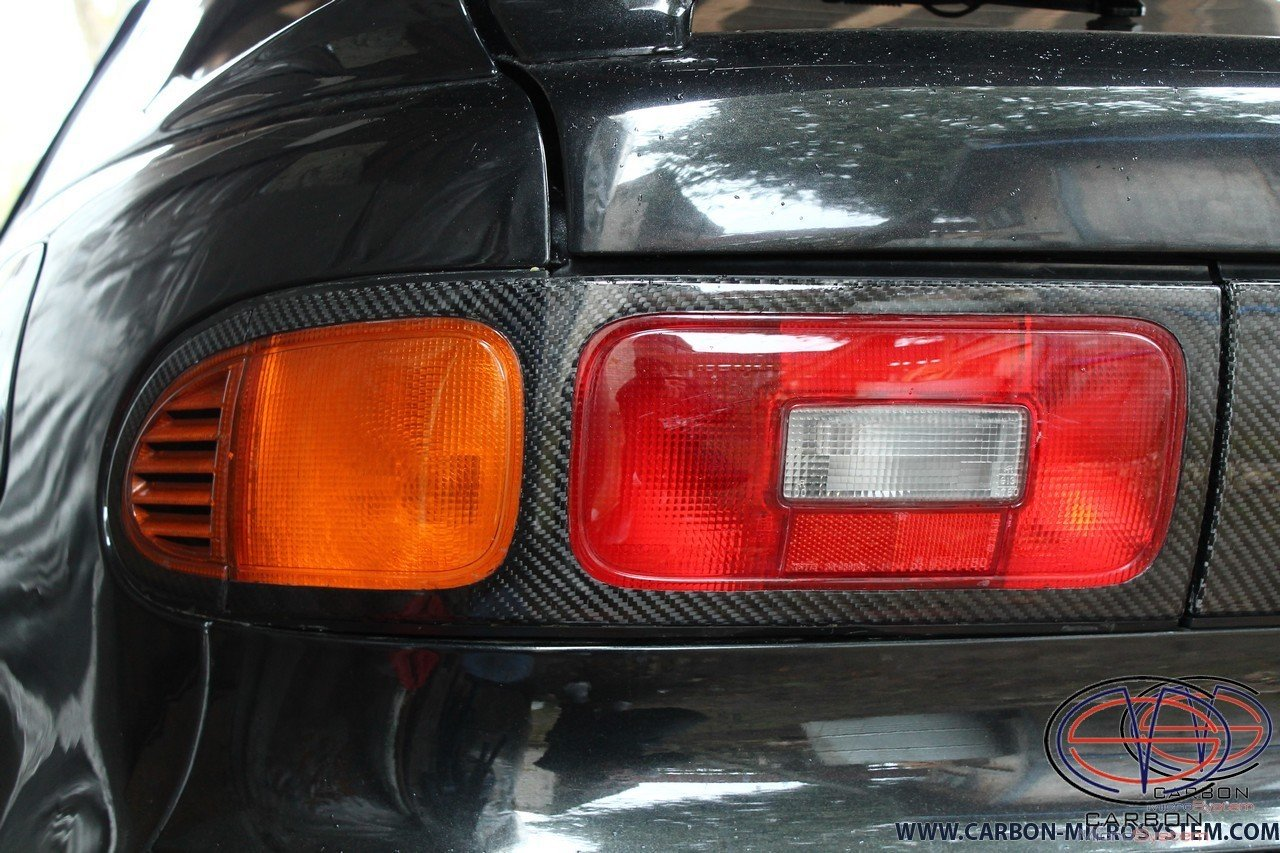 Rear lights surround from Carbon Fiber for TOYOTA Celica