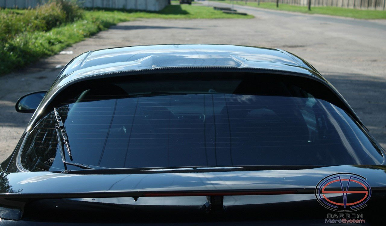 Rear roof Spoiler from Carbon Fiber for TOYOTA