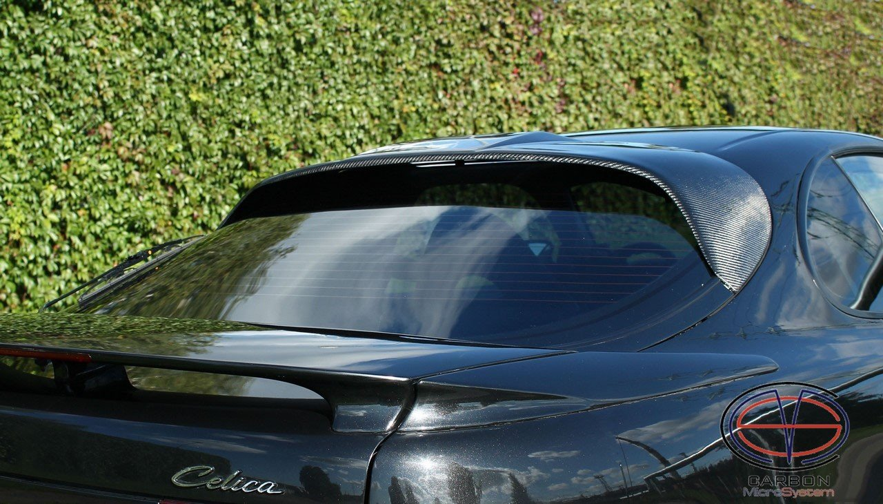 Rear roof Spoiler from Carbon Fiber for TOYOTA Celica ST ST183