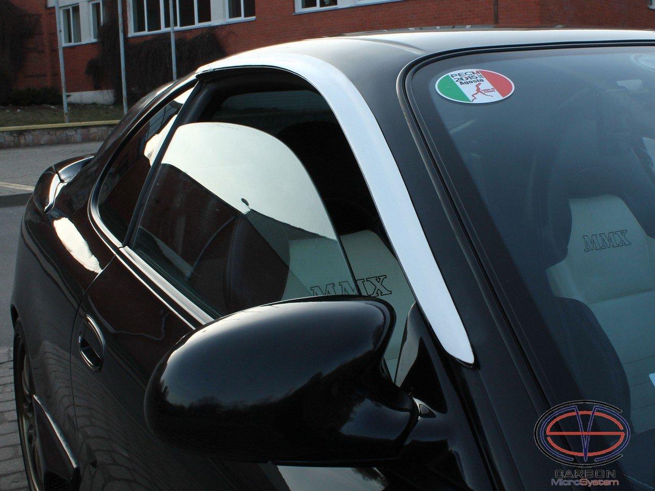 Window Wind Deflectors from FiberGlass for TOYOTA Celica ST 182, ST 183, ST 185 GT4