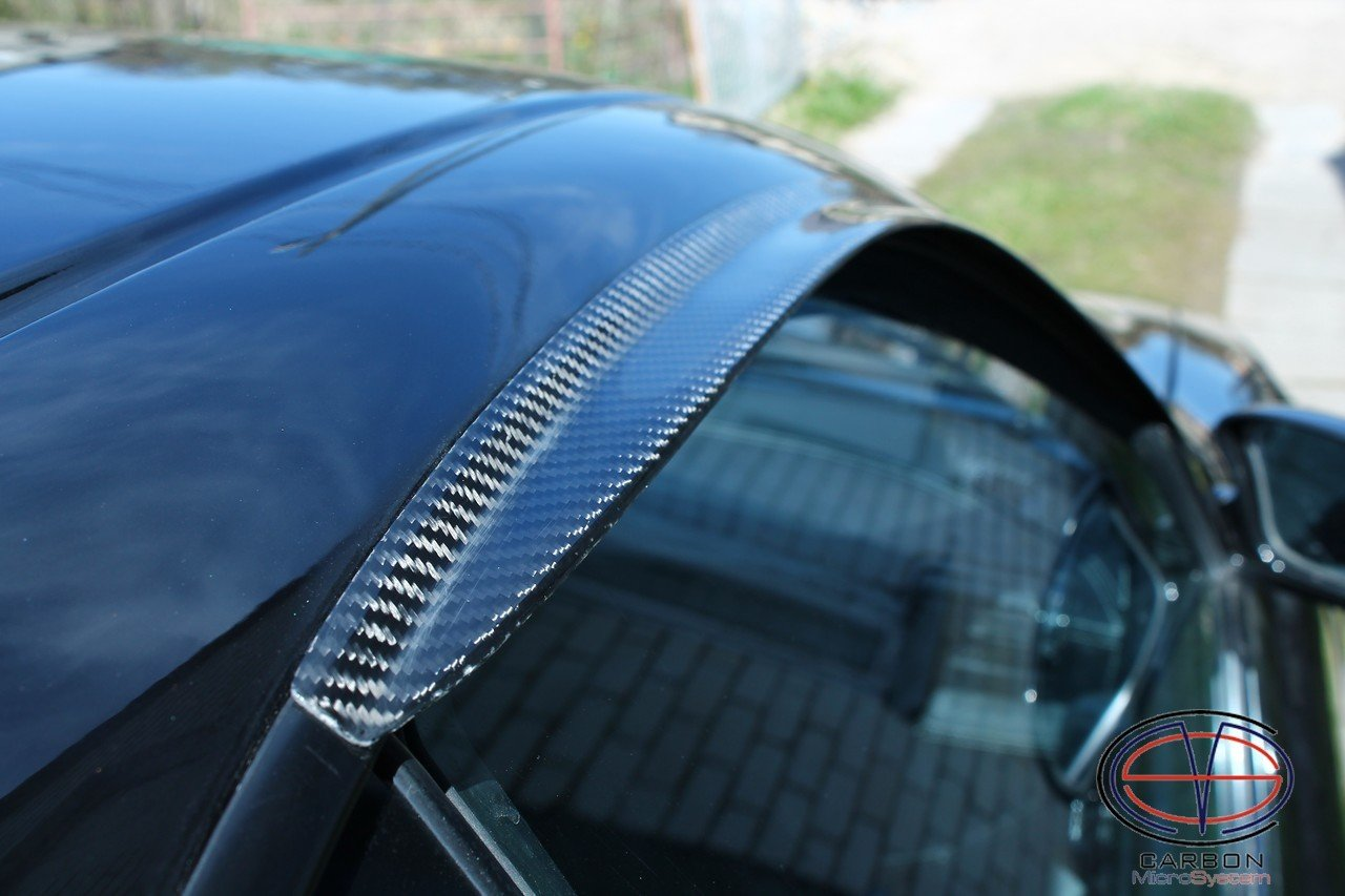 Window Wind - Rain Deflectors from Carbon Fiber for TOYOTA Celica  ST 182, ST 183, ST 185 GT4