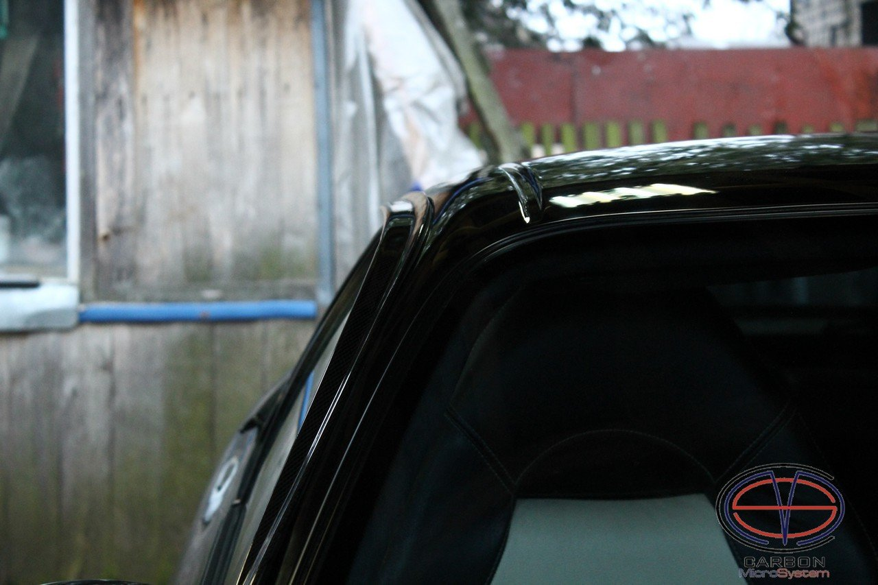 Window Wind - Rain Deflectors from Carbon Fiber for TOYOTA Celica ST182