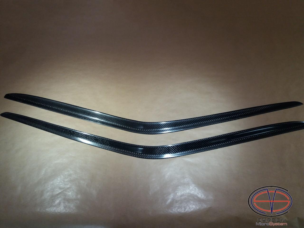 Window Wind - Rain Deflectors from Carbon Fiber for TOYOTA Celica  ST162, ST165 GT4 2018-13