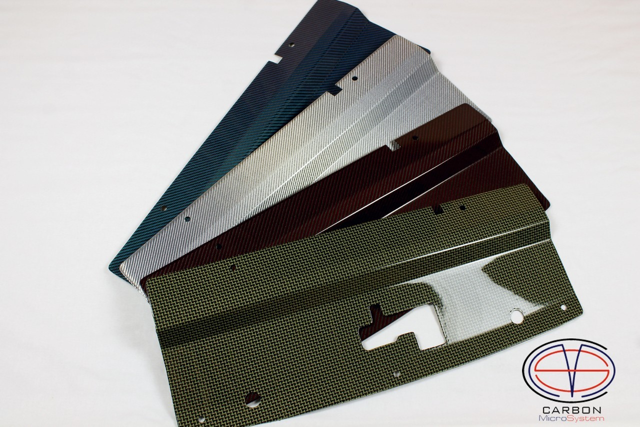 Radiator cooling panel from Color Carbon Fiber and Kevlar for TOYOTA Celica  ST 182, ST 183, ST 185 GT4 00003