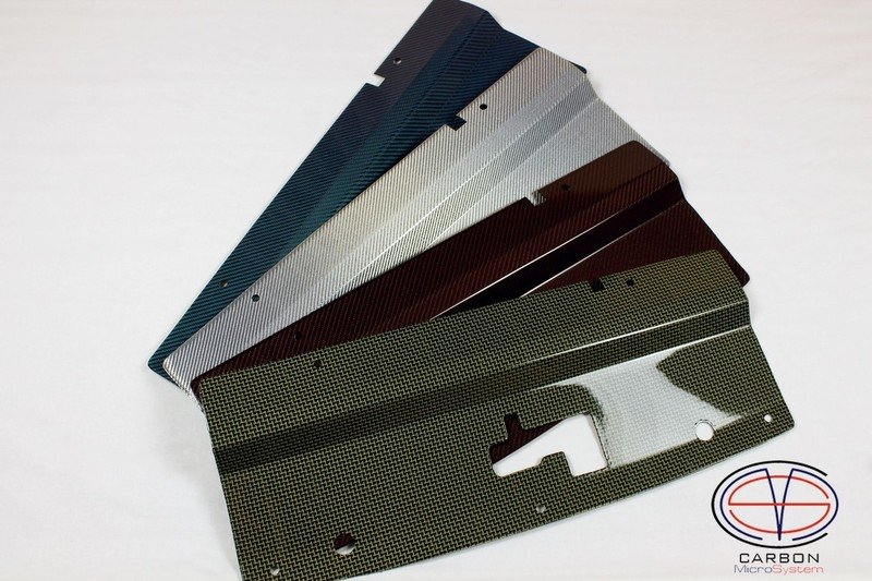 Radiator cooling panel from Color Carbon Fiber and Kevlar for TOYOTA Celica  ST 182, ST 183, ST 185 GT4