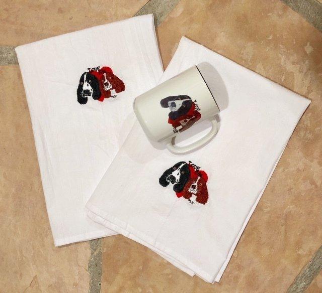 Love Me Tea Towels & Mug LMTM-002