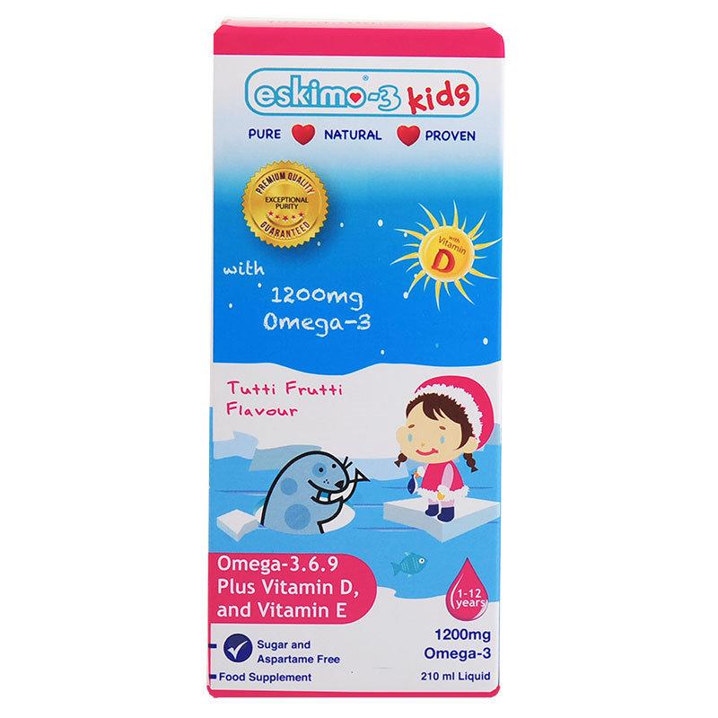 Eskimo-3 Kids - Omega-3.6.9 and Vitamin D3 -  Tutti Frutti 00004