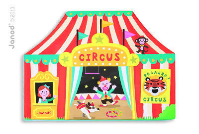 Circus Story Box in Packaging Circus Tent Box  sc 1 st  Rascals Toy Shop & Janod Play World Circus Story Box Imaginative Play Toys ...