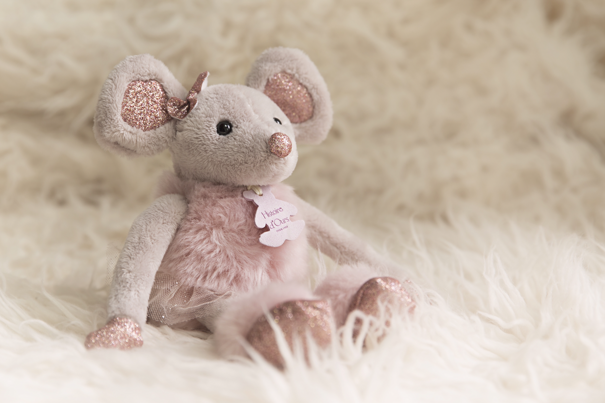 Favori Histoire d'Ours Star Ballerina Pink Mouse HO2635 | Traditional  LA62