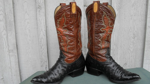 Montana Ostrich Boots...Nothing Short of Sexy