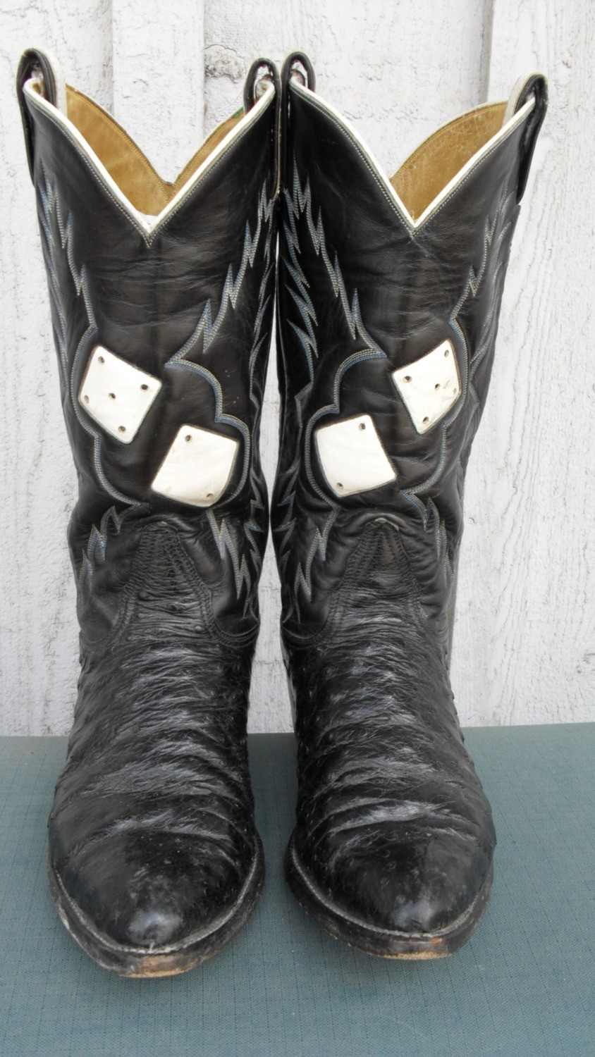 Roll the Dice on these Tony Lama rockabilly boots!