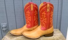 """Goin' to Town"" Boots by Rod Patrick Bootmakers"