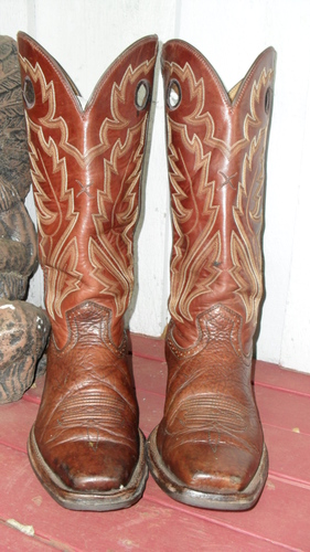 Twisted X Buckaroo Boots...Made For Working Cowboy!