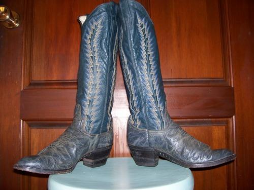 Unique Pair of Larry Mahan Boots!
