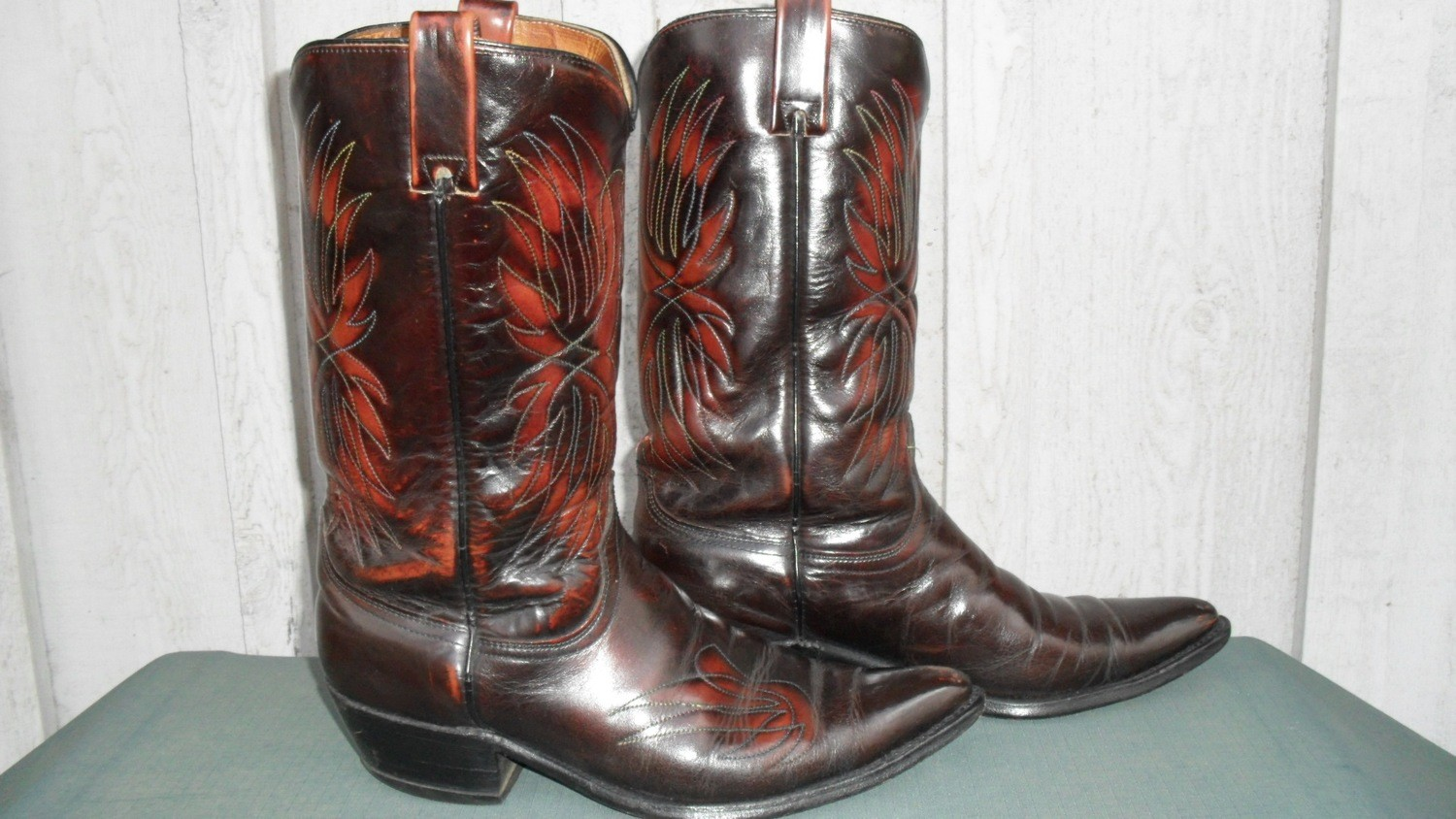 Handsomest Pair of Acme Boots Ever!