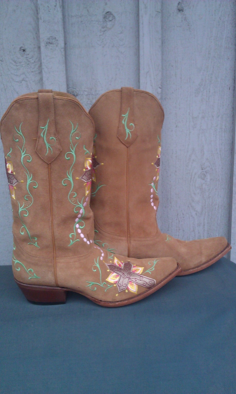 Johnny Ringo Faith Cross Boots