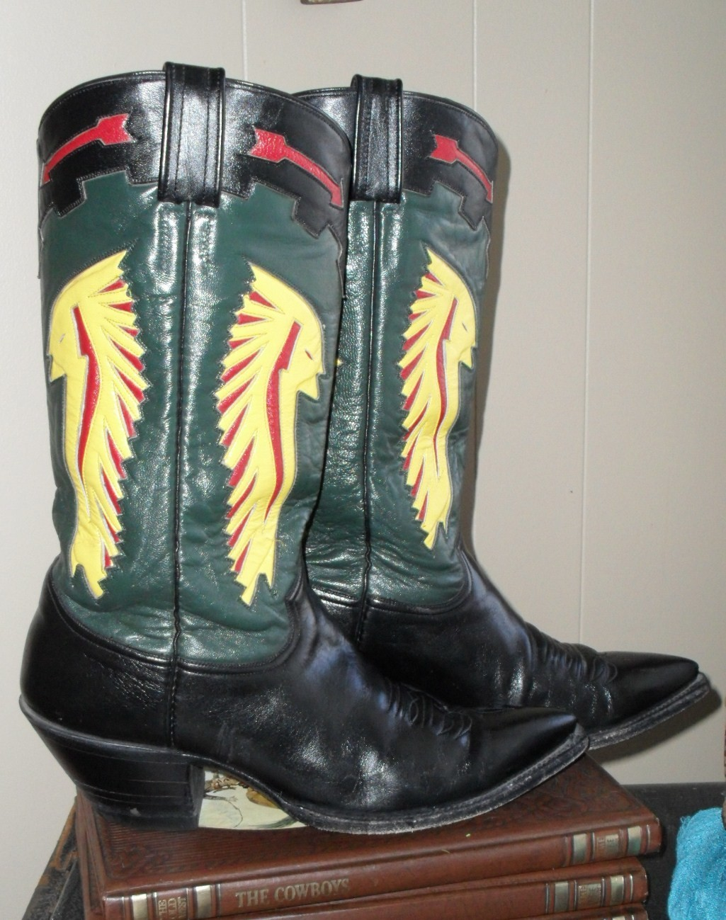 "Epic ""Big Chief"" boots by the epic folks at CABOOTS"