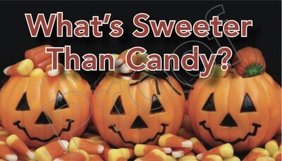 What's Sweeter Than Candy?  Halloween Tracts