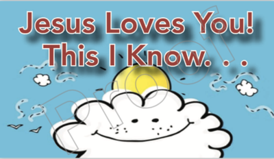 Jesus Loves You! Tract