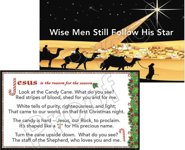 Wise Men and Candy Cane Tracts