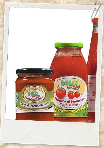 """Passata di pomodoro """"Dolci"""" Bio crt 12 bott. 0,700"""