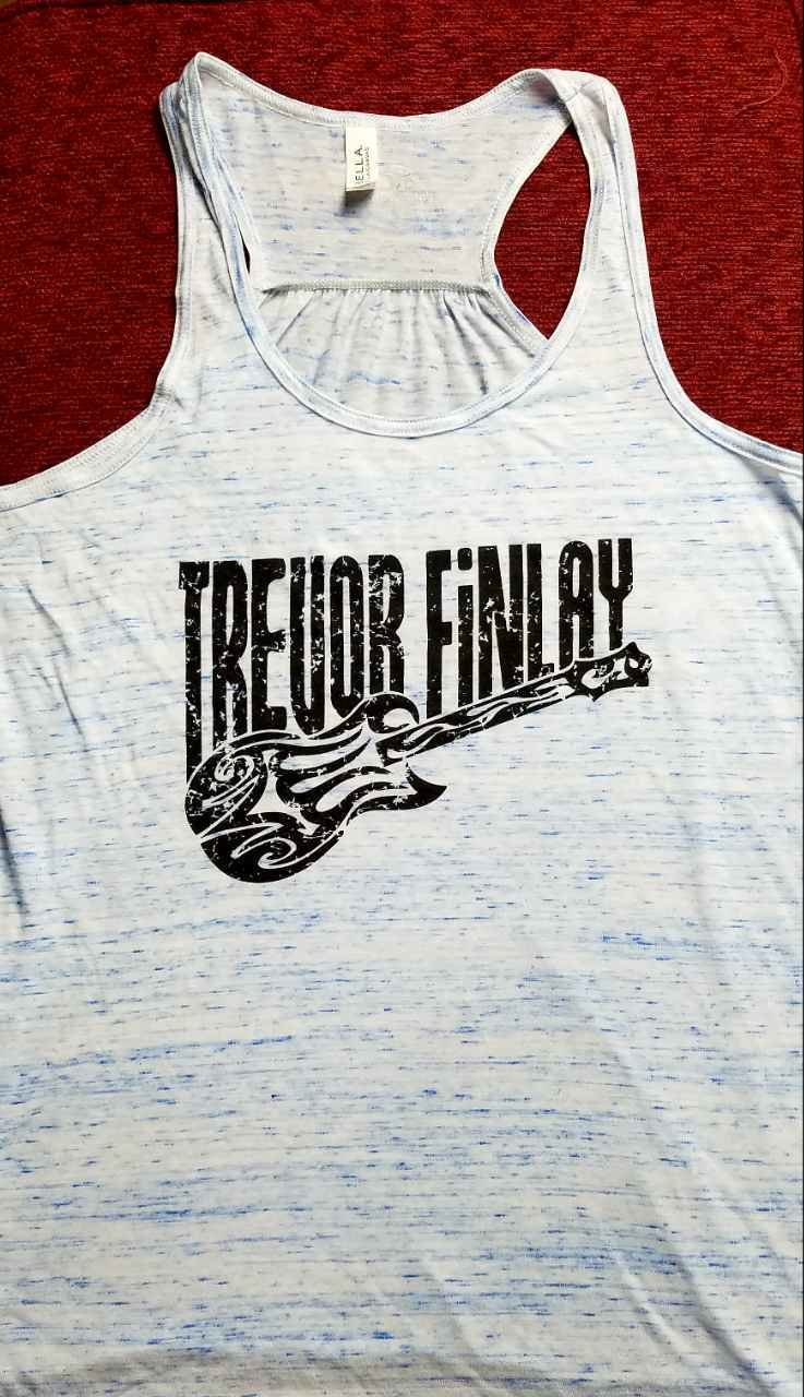 """TREVOR FINLAY Women's """"Distressed"""" Tank-sizes are limited see below"""