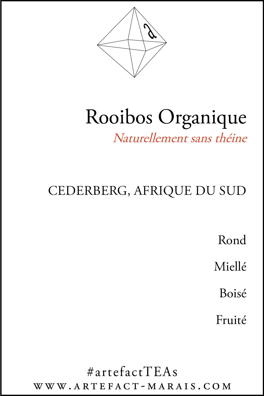 Rooibos Rouge Organique : Naturellement sans théine T6000
