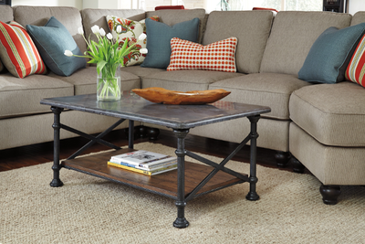Tallenfield Cocktail Table, End Tables, and Sofa Table