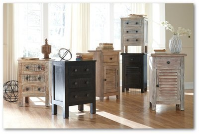 Charlowe Assorted Nightstands