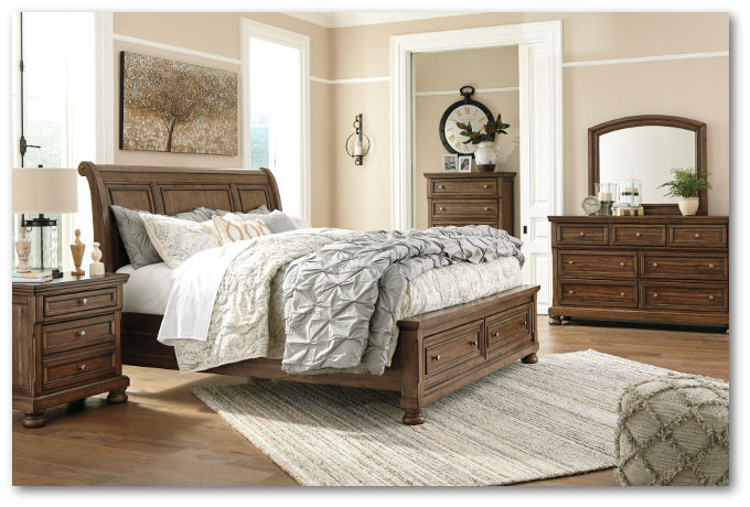 Flynnter Collection - Bedroom Set