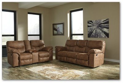 Boxberg - Reclining Power Sofa & Loveseat