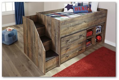 Trinell (Loft) Collection  - Youth Bedroom Set