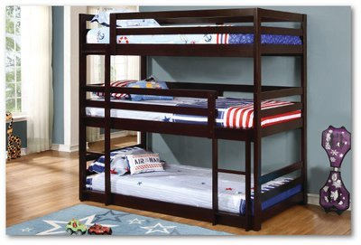Triple Layer (Bunk) Collection  - Youth Bedroom Set